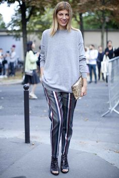 Street style at Paris fashion week spring/summer '14