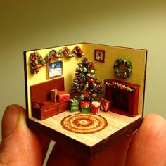 Christmas roombox 1/144 https://www.etsy.com/ru/listing/259443950/christmas-roombox-1144?ref=shop_home_active_3