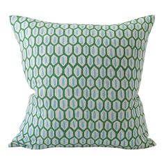 Walter G Wholesale Portal - AUS - Tapi Emerald linen cushion 50x50cm Hand Printed Fabric, Printed Linen, Printing On Fabric, Pillow Forms, Pillow Inserts, Cushion Covers, Pillow Covers, Beautiful Textures, Boutique Design