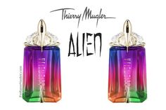 Perfume and fragrance release news, Mugler Alien We Are All Alien Collector Edition New Perfume! Alien Perfume, Perfume Diesel, Hermes Perfume, Perfume And Cologne, Best Perfume, Popular Perfumes, Celebrity Perfume, Miniature Bottles, Eau De Toilette