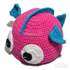 Baby fish hat