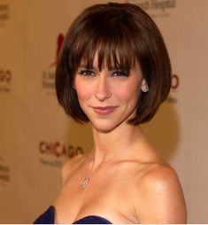 Bob hairstyles . . . the evolution of the modern Bob haircut never ceases to amaze me. Each new season we have a whole new generation of great looks to try, we've got bob for every face shape, length and hair type. Don't miss out!  Jennifer Love Hewitt blunt bob with bangs