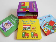 Box of 6 sturdy little 8 page board books each book has 8 thick pages of colour illustrations all related to trains in some way each book measires - perfect for little hands! Party Bag Fillers, 2 Year Olds, Party Bags, Trains, Hands, Colour, Illustrations, Box, Ideas