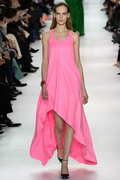 One of my favorite looks from Christian Dior Fall 2014 Ready-to-Wear Collection (Worn by Zoe Saldana • Worn by Lily Cole)