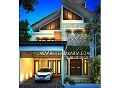 Desain Rumah luas 137 m2 Ibu Niken Jakarta dari JasaArsitekjakarta