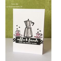 Made by Rachel Vass using Altenew Coffee Lover set