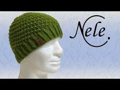 Mütze stricken für Anfänger - Strickmütze im Spiralmuster, DIY Anleitung by NeleC. - YouTube