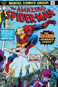 Cover to Amazing Spider-Man #153