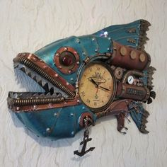 Steampunk Clock, Wood Watch, Bracelet Watch, Accessories, Steampunk Watch, Wooden Clock, Jewelry Accessories
