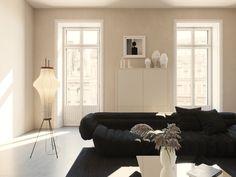 A bright and minimal interior