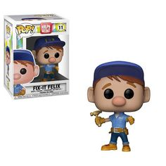 Funko Pop Wreck-It Ralph 2 Fix-It Felix Pop! Vinyl Figure video game villain with a heart of gold is back and the adventures continue with Ralph Breaks the Internet. This Wreck-It Ralph 2 Wreck-It Fix-It Felix Pop! Pop Vinyl Figures, Funko Pop Figures, Funk Pop, Collection Disney, Pop Collection, Disney Pop, Disney Stuff, Wreck It Ralph, Funko Pop Ariel