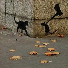 """""""Il gatto timido fa il topo coraggioso."""" Proverbio scozzese"""