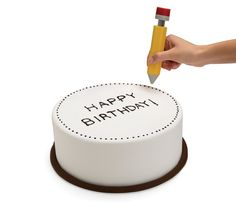 Cutest and useful tool for creative decorating of birthday cakes, cookies, pancakes & more. Cake Writing, Monkey Business, Decorating Tools, Birthday Parties, Birthday Cakes, Creative Decor, Sauce, Cookies, Baking