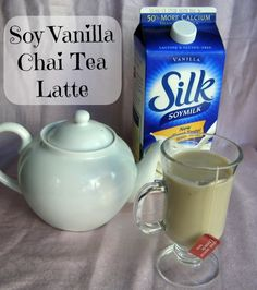 Vanilla Soy Chai Tea Latte #Recipe is so easy to make and one of the best Chai tea's you'll ever have! #sponsored