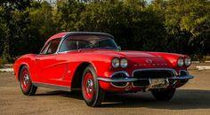 1962 Big Brake Fuelie Corvette Headed to Mecum Las Vegas - Corvette: Sales, News & Lifestyle 1962 Corvette, Chevrolet Corvette, Old Classic Cars, Las Vegas, Vegas 2017, Big, Roman, November, Dreams