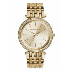 Eine zeitlose goldene Uhr, wie z.B. von Michael Kors, passt einfach zu allem und ist ein super Weihnachtsgeschenk.