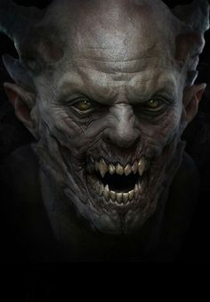 Vampire by Grassetti Art. (via Grassetti Art) Zbrush, Zombies, Portraits Illustrés, Ange Demon, Vampire Art, Scary Vampire, Vampires And Werewolves, World Of Darkness, Creatures Of The Night