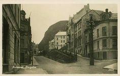 Møre og Romsdal fylke Aalesund Storgaten tidlig 1900-tall Utg J. Aarflot