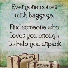help to unpack
