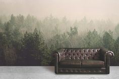 amidst-the-mist-forest-wall-mural
