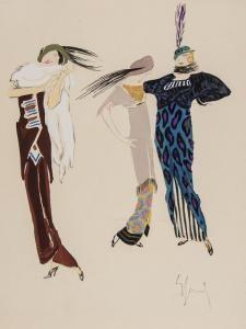 Enrico Sacchetti - Robes Et Femmes