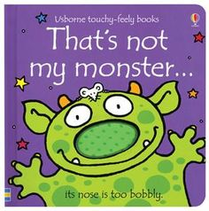 Booktopia - That's Not My Monster., Usborne Touchy-Feely Books by Fiona Watt, Buy this book online. Monster Board, Monster Book Of Monsters, Fiona Watt, Flying With A Baby, Bright Pictures, Thing 1, Halloween Books, Halloween Fun, Illustrations
