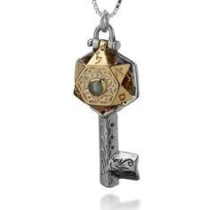 Hamsa Hand Of God Fatima Evil Eye.Charm Pendant Jewish Judaica Kabbalah Neck YB