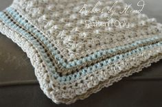 NO VAT EMAIL Blanket Crochet Pattern Baby Afghan by BabiesByHand