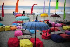 Beanbag beach Kuta