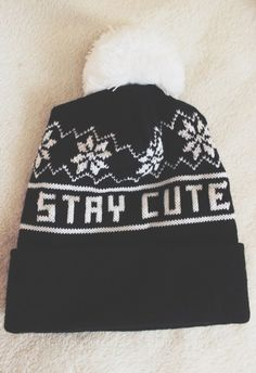 Im inlove with this beanie..