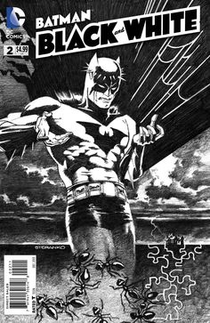 Portada Jim Steranko Batman: Black and White 2