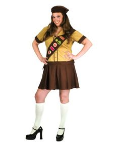 Scout sexy fille halloween