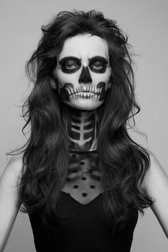 skeleton face