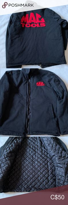 Men's Mac Tools Jacket Men's Mac Tools jacket size medium ( tag was removed ) is lined on the inside Mac Tools Jackets & Coats
