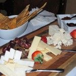 Complimentary fruit & cheese during the manager's reception every Friday.