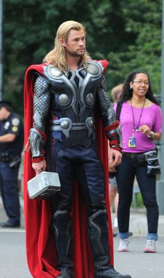 Chris Hemsworth or Thor in this case