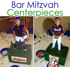 How to make custom Bar Mitzvah centerpieces │ EasyLunchboxes.com