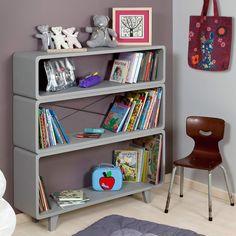 Id es d co bureau bibliotheque on pinterest salons - Bureau dans armoire ...