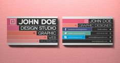 10 Great Business Card Template Designs | PSD Downloads
