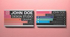 10 Great Business Card Template Designs | PSD Downloads