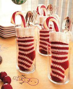 weihnachtsbasteln mit kindern zuckerstangen