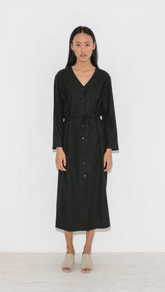a794b6a68dfd Ozma Mal Pais Dress in Black