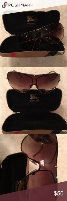 Burberry Sunglassses Used but very good condition. Please email if you want additional pics! Burberry Accessories Sunglasses