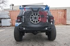 Wrangler Tire Carrier | Adventure | Jeep Wrangler (07-18)