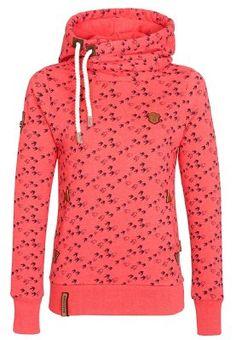 Naketano DARTH - Sweatshirt - candy red melange - ZALANDO.FR Hoodies De  Inverno, 045e1cf9cb