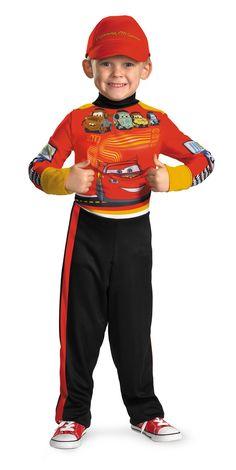 Lightning Mcqueen Classic Boys Costume 4-6