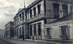 Historia de Guatemala  Antigua sede del gobierno, destruida totalmente por los terremotos de 1917-18.
