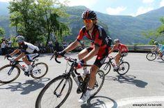 2014 giro-d-italia photos stage-17 - Daniel Oss (BMC) in the break on the first KOM, the cat 4, Scale di Primolano, at 105 km