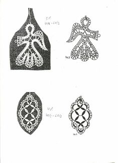 Bobbin Lace Patterns, Lace Jewelry, Lace Making, Projects To Try, Ornaments, Macrame, My Favorite Things, Crochet, How To Make