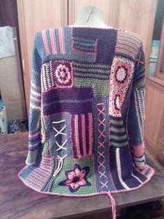 Crochet Cardigan Pattern, Crochet Blouse, Knit Crochet, Filet Crochet, Freeform Crochet, Lace Sweater, Crochet Toys Patterns, Fashion Story, Crochet Fashion